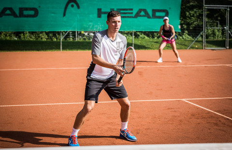 3 видео урока по тенис за работа с краката: част 2