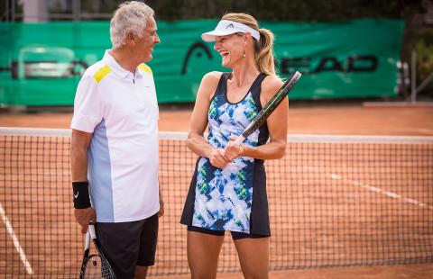 Менюто на тенисиста