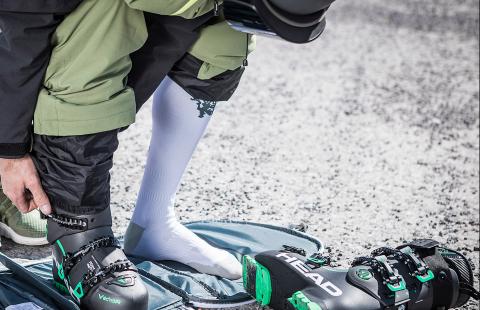 Как да избирате ски чорапи