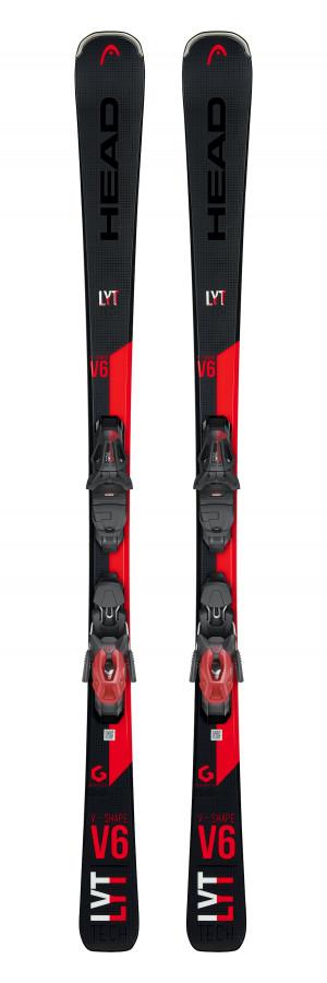 СКИ V-SHAPE V6 LYT PR BK/RD /315249