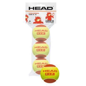 Тенис топки HEAD tip red x 3 в кутия