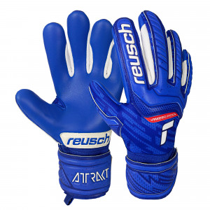 ВРАТАРСКИ РЪКАВИЦИ Reusch Attrakt Grip Evolution Finger Support Junior Детски