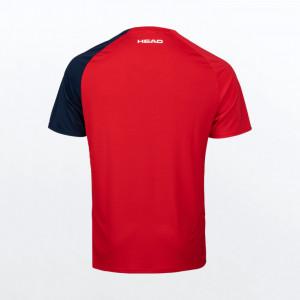 Тенис фланелка HEAD striker t-shirt мъжка / 811391-rdxv