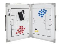 ТАКТИЧЕСКА ДЪСКА СГЪВАЕМА SELECT TACTICS BOARD foldable FOOTBALL white 60cmx45cm / 7294100000