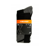 СКИ ЧОРАПИ HEAD V-SHAPE KNEEHIGH BLACK 2 PAIRS/771010001-200