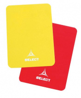 РЕФЕРСКИ КАРТОНИ SELECT REFEREE CARDS red and yellow one size / 7490900001