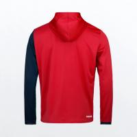 Тенис суитшърт HEAD breaker hoodie мъжки / 811471-rddb