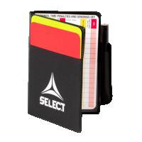 Реферски картони SELECT referee cards set incl.yellow card,referee card,pencil /7491000111 *sk*a